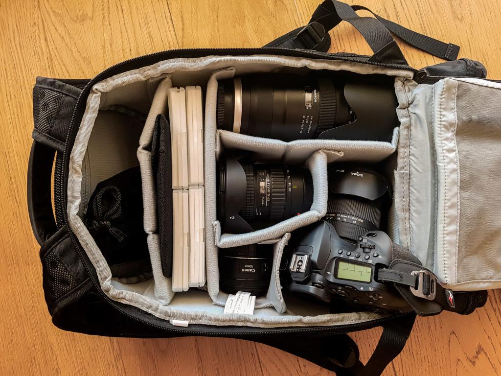Mein Fotorucksack