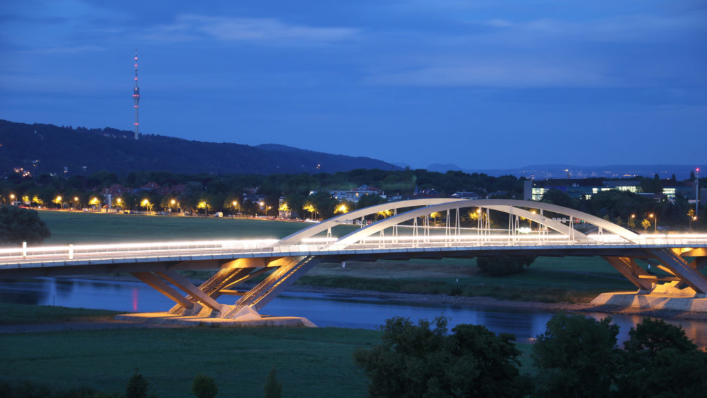 Waldschlösschenbrücke • Dresden