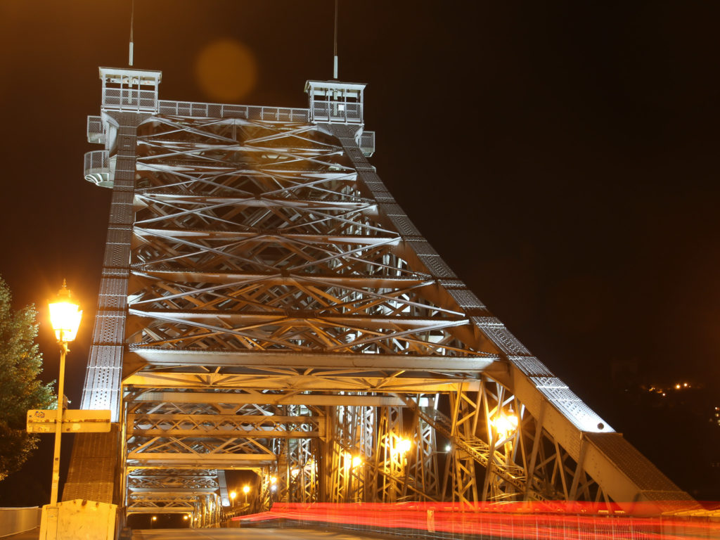 """Loschwitzer Brücke """"Blaues Wunder"""", Dresden"""