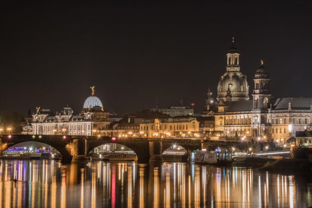 Albertinum, Augustusbrücke & Frauenkirche, Dresden