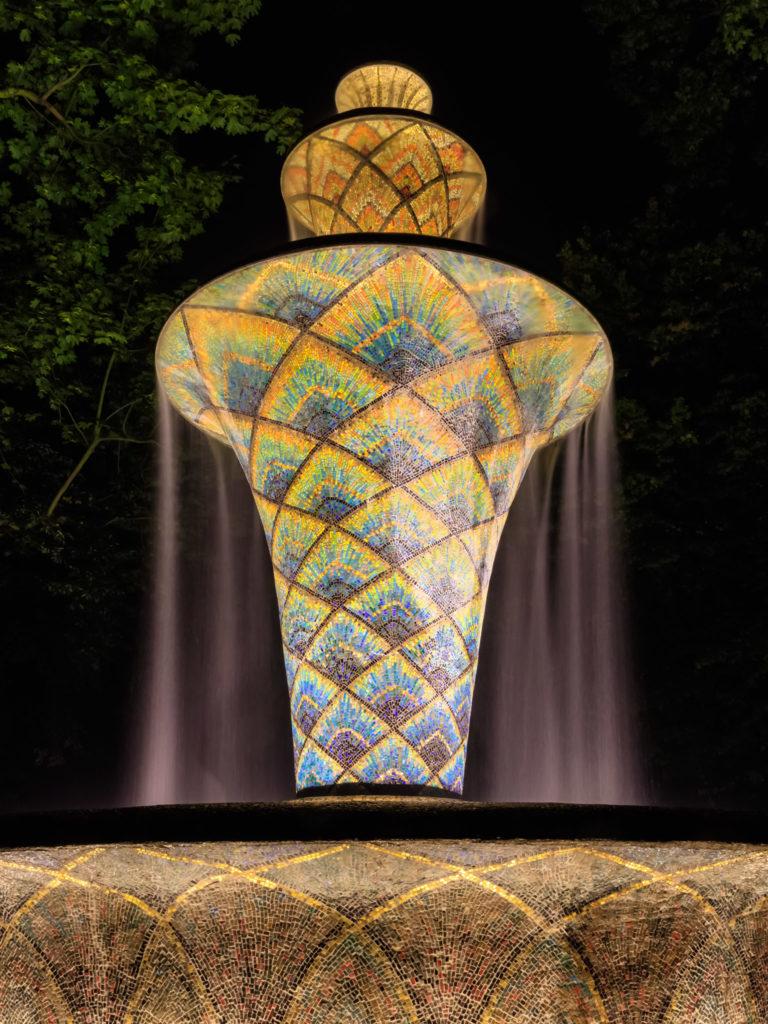 Mosaikbrunnen • Großer Garten, Dresden