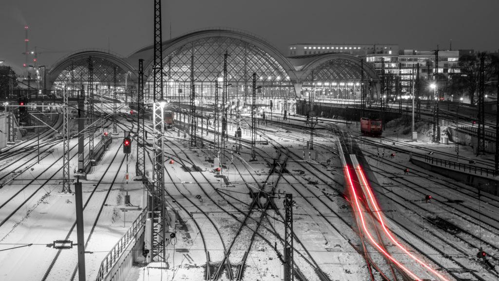 Hauptbahnhof (Color-Key) • Dresden